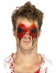 Prothèse latex yeux arrachées adulte Halloween