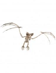 Décoration à suspendre squelette chauve-souris 72 cm Halloween