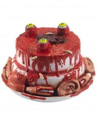 Décoration gâteau parties du visage Halloween