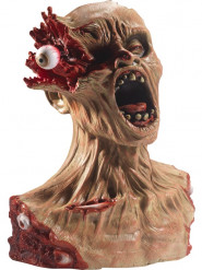 Buste zombie oeil explosé 40 cm Halloween