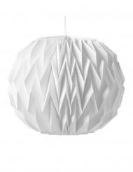 Boule origami blanche 28 x 37cm