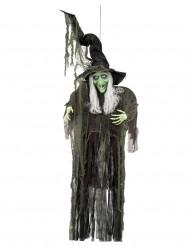 Décoration à suspendre sorcière 190 cm Halloween