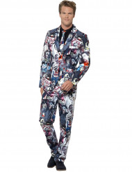 Costume Mr. Zombie homme