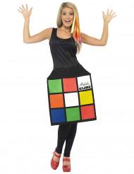 Déguisement robe Rubik