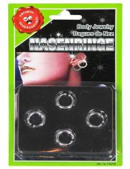 Kit 4 piercings