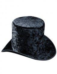 Chapeau haut de forme velours noir