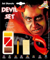 Kit maquillage et cornes diable