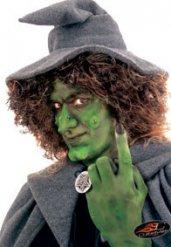 Nez sorcière avec colle Halloween