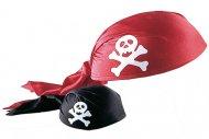 Chapeau bandana de pirate adulte