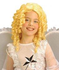 Perruque ange blond enfant