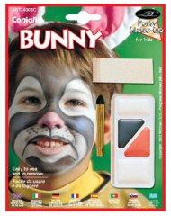 Ensemble maquillage lapin 5 pièces multicolore pour enfant