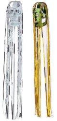 Décoration à suspendre tête de mort rose et argent 80x12cm