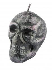 Bougie crâne gris