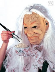 Character mask old Chinese Woman