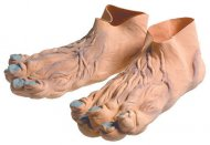 Pieds troll en latex adulte