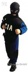 Déguisement CIA noir bleu enfant