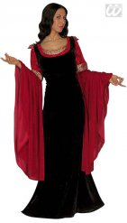 Déguisement robe médiévale femme