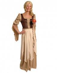 Déguisement baronne médiévale femme