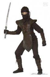 Déguisement guerrier ninja enfant marron