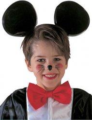 Serre-tête noir oreilles de souris enfant