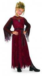Déguisement vampire gothique rouge noir fille