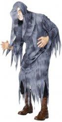 Déguisement fantôme gris homme