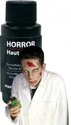 Maquillage peau zombie blanche 20ml Halloween
