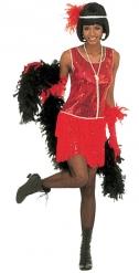 Déguisement charleston femme rouge