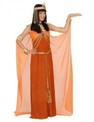 Déguisement Cleopâtre femme orange