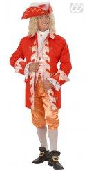 Déguisement noble baroque rouge homme