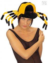 Chapeau araignée adulte noir et jaune