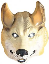 Masque animal loup adulte