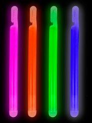 Bâtonnet lumineux multicolore 15 cm