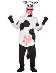 Déguisement vache avec mamelles unisexe