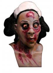 Masque infirmière zombie adulte