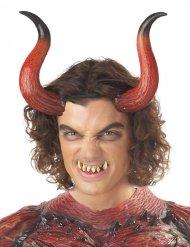 Cornes et dents de démon adulte