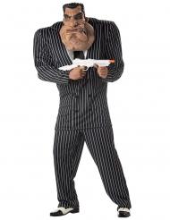 Déguisement gangster costume noir et blanc