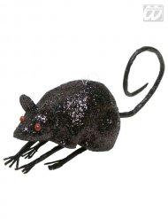 Décoration souris noire