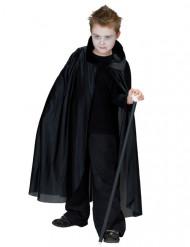 Cape vampire noire enfant