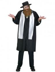 Déguisement rabbin avec barbe homme