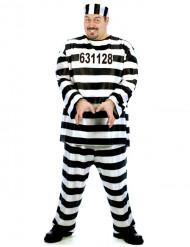 Déguisement prisonnier homme grande taille
