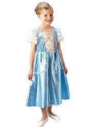 Déguisement princesse bleu et blanc enfant