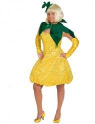 Déguisement fruit citron femme