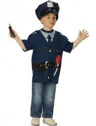 T-shirt officier de police enfant