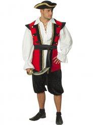 Déguisement noble pirate homme