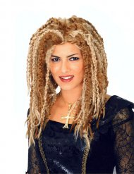 Perruque rasta dreadlocks blonde femme