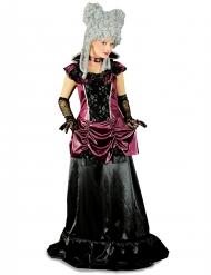 Déguisement baroque violet et noir femme