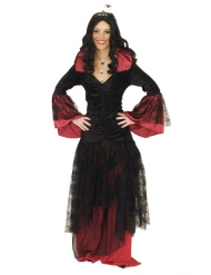 Déguisement reine des ténèbres femme Halloween