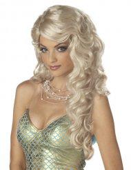 Perruque sirène femme blonde