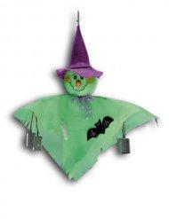 Décoration à suspendre fantôme vert 33 cm